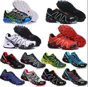New Men's Salomon Speedcross 3 Athletic Running Sports Outdoor Hiking Shoes EU