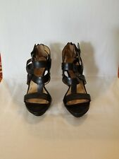 Womens Nine West Platform Sandals Size 4