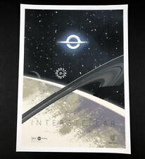 Interstellar IMAX 2014 Limited Ed Kevin Dart 12 x 16 Poster Matthew McConaughey