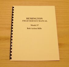 Remington Field Service Manual Model 37 Gunsmith - #12