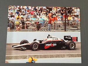 Will Power 2010 Original 8 1/2 x 11 Photo From The Indy 500