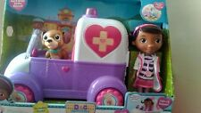 Brand New Complete Doc Mcstuffins Toy Hospital Car Playset