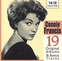 Connie Francis - 19 Original Albums & Bonus (NEW CD SET)
