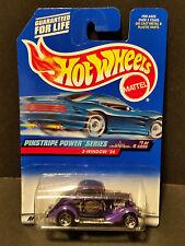 1997 Hot Wheels #953 Pinstripe Power Series 1/4 : 3-Window '34 - 21301