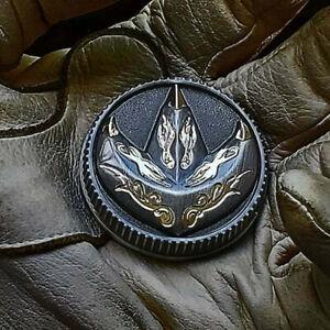 ONYX Fighting Spirit metal coin Power Green ranger Dragonzord no morpher