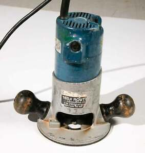 Bosch Router 1604 with Small Round Over Bearing Bit