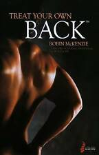 NEW Treat Your Own Back by Robin A McKenzie