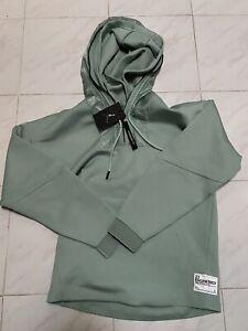 Nike Air Jordan 23 Engineered 1/2 Zip Hoodie Luminous Green Men's M AT9779-333