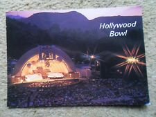 .POSTCARD.HOLLYWOOD BOWL.HOLLYWOOD CALIFORNIA. POSTAGE DUE.