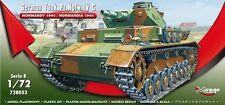 ,German Tank Pz.Kpfw. IV Ausf. C 'Normandy 1944' MIRAGE HOBBY 728053,SCALE 1/72