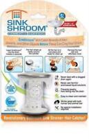 SinkShroom® Chrome Award-Winning Drain Hair Catcher Strainer Snare by TubShroom