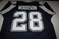 DARREN WOODSON #28 SEWN STITCHED HOME GAMEDAY JERSEY SIZE XLG