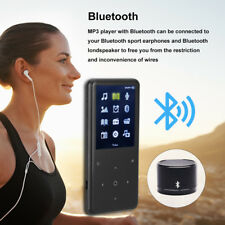 Portable 16GB Bluetooth MP3 Music Player w/ FM Lossless Support Micro SD Card US