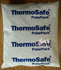 16 ThermoSafe 5.5x6.5 PolarPack Freezer Ice Camp Cooler Lunch Box Cold Gel Packs