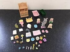 SYLVANIAN FAMILIES NURSERY BUNDLE SET WITH BABIES AND ACCESSORIES