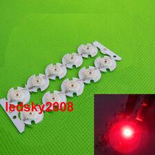 Hot 10pcs 3W 3 Watt deep red 650nm-660nm led chip Plant grow light +16mm pcb