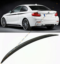 FOR 2014-17 BMW F22 2 SERIES PERFORMANCE STYLE CARBON FIBER TRUNK SPOILER WING