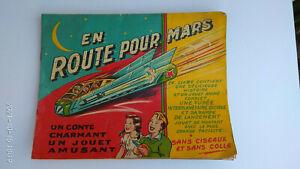 Livre ancien pour enfants Editions Volumétrix En route pour Mars Années 50/60 ?