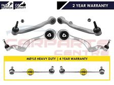 FOR BMW E60 E61 FRONT LOWER CONTROL WISHBONE TRACK UPPER LOWER ARMS MEYLE LINKS