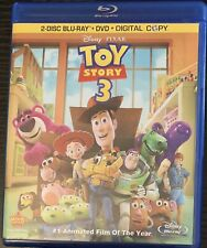 Toy Story 3 (Blu-ray/DVD, 2010, 4-Disc Set) Disney