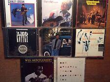 Jazz Gitarre [8 CD Alben] Pat Metheny Leo Kottke Earl Klugh Stanley Jordan Wes M