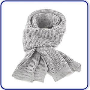Wafle Knit Scarf Mens Ladies Waffle Knit Soft Touch Scarf Winterwear Warm Gift!
