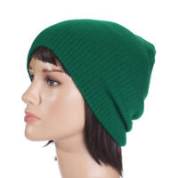 Men Women Oversize Beanie Skull Baggy Cap Winter Warm Slouchy Knitted Hat Unisex