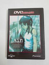 LAIN Serial experiments DVD Manga Edicion Española.