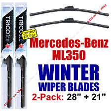WINTER Wiper Blades 2pk Premium - fit 2006-2011 Mercedes-Benz ML350 - 35280/210