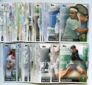 2019 Topps Tennis Hall of Fame Set PICK CARD SINGLES Naomi Osaka, Roger Federer+
