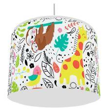 JUNGLE TROPICS  LIGHT LAMPSHADE KIDS ROOM matches duvet set   FREE P&P