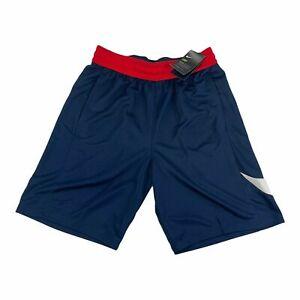 (CU4327 451) NWT Nike HBR USA navy/red Basketball Shorts sz M Mens $35