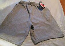 Hanes Jogging  Short Small Gray Color  2 pocket 90 % Cotton Jersey Material
