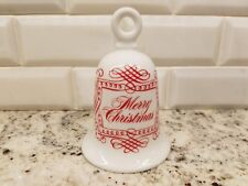 "House of Goebel Bavaria W. Germany Merry Christmas Bell 4.25"" Tall; Mint Cond"