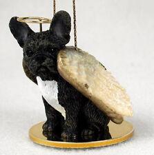 FRENCHIE FRENCH BULLDOG ANGEL DOG CHRISTMAS ORNAMENT HOLIDAY Figurine Statue