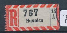 71117) Reco-Zettel AKZ 12A Havelse