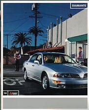 Big 2003 MITSUBISHI DIAMANTE Catálogo / CATALOG con color chart's: Vr-x , LS, ES