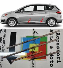 MODANATURE CROMATE LATERALI ADESIVE FORD C-MAX II MPV 2010+ ACCIAIO INOX