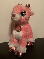 "EUC 14"" Build a Bear Plush Pink Merry Mission Twinkle Reindeer w/ Sound"