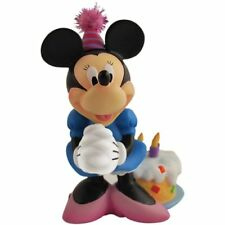 Disney Happy Birthday Minnie Mouse with Cake Figurine Cake Topper Home Decor