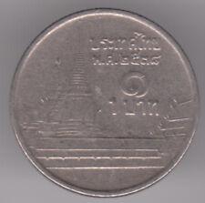 Thailandia 1 BAHT 1995 moneta di rame-nichel-RAMA IX-Phra kaew Temple, BANGKOK