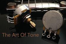 1X CTS 450S Custom Series 500K SHORT Split Shaft Audio Taper Pot - 10% Tole