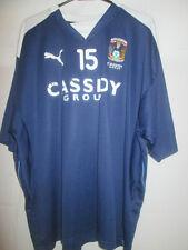 Coventry City Martin Cranie no 15 Worn Training Football Shirt /20855