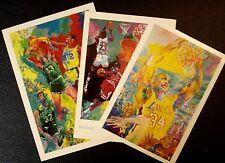 "Lot of 3 ""Basketball Themed"" Fine Art Postcards by LeRoy Neiman"
