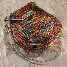 New Tara Glass Wedding Bangle Hard Shell Handbag