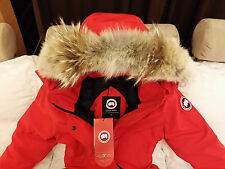 """BRAND NEW """"RED"""" (RED LABEL) CANADA GOOSE TRILLIUM SMALL ARCTIC PARKA JACKET"""