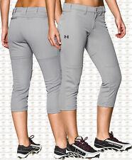 NWT Under Armour Women's UA Strike Zone Softball Pants 1242352 075 XL *