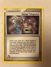 Pokemon Swoop! Teleporter 92/109 Team Rocket Returns NM-Mint See Pictures