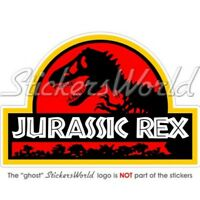 JURASSIC REX Tyrannosaurus Dinosaurier Auto Aufkleber, Vinyl Sticker
