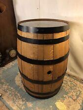 "Whiskey Barrel Solid Oak&Iron rings.Label.21""x 34""C12pix4size/details.MAKE OFFER"